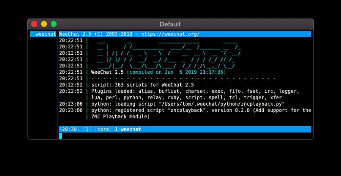 Installing zncplayback.py