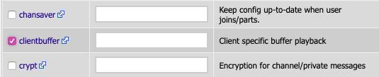 ClientBuffer Module Ticked